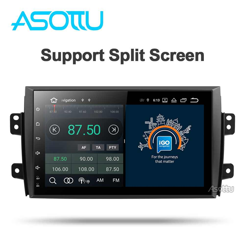 Asottu CTY9060 PX30 car dvd gps 9.0 for Suzuki SX4 3G wifi gps navigation car radio video audio player car stereo 2 din gps