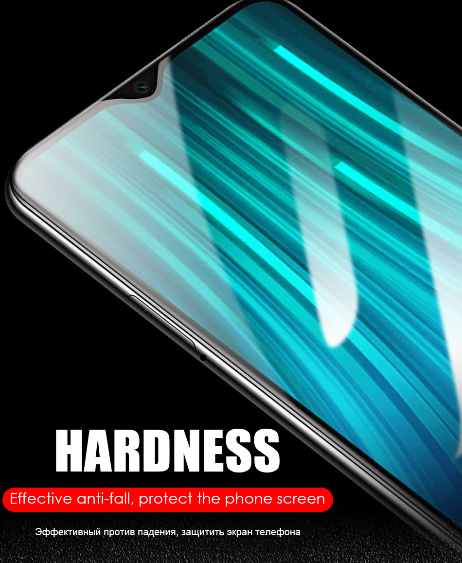 2 in 1 HD Full Protective Clear Screen Tempered Glass Lens For Xiaomi Redmi 6