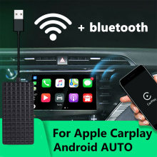 Adaptador inteligente vehemo sem fio, dongle para apple carplay para android, navegação, usb, carplay, para iphone