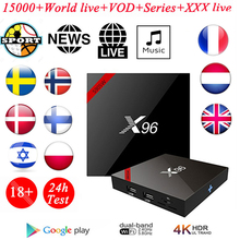 цены X96 Mini Android TV BOX IPTV 2GB 16GB 2.4GHz WiFi Quad Core Set top Box Media Player Youtube Streaming Media Player Smart TV Box