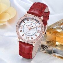 Wwoor известный бренд роскошные женские часы с бриллиантами