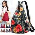 Новая модная сумка через плечо с цветочным принтом  сумки через плечо  нагрудные сумки  многофункциональный женский рюкзак