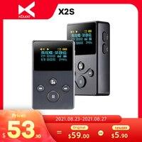 XDUOO X2S Hallo-Res Verlustfreie Tragbare Musik-Player DSD128 24Bit 192Khz 128GB OLED MP3 Player