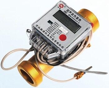 Ультразвуковой тепловой Измеритель для трубопровода, кондиционер, отопительный и холодный измеритель DN15 DN20 DN25