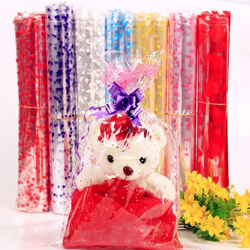 10pcs 28*40cm/90x150cm Super Large Plastic Gift Toy Package Bag Large Doll Packaging Gift Bag Clear