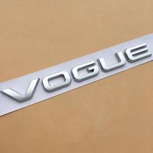 Image 4 - L SDV8 SCV6 barra con emblema para Range Rover VOGUE, VOGUE, edición ejecutiva extendida, insignia de borde lateral de coche, pegatina con estilo para maletero