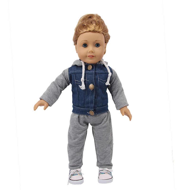 人形 13 スタイルセット = 洋服 + パンツ/スカートフィット 18 インチアメリカ & 43 センチメートル新生児人形アクセサリー世代誕生日のおもちゃギフト