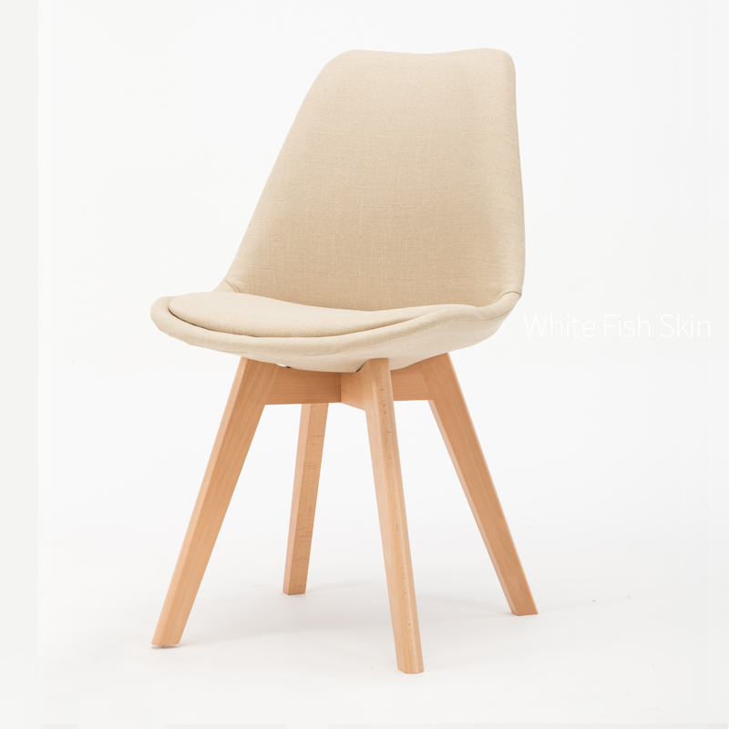 Nordic Solid Wood Dining Chair Coffee Hotel Conference Stools  Furniture Modern Simplicity Economics Type for Sale