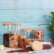 Glass Kitchen Jars Storage Bottles Household Sorting Food Container Grains Nuts Cans