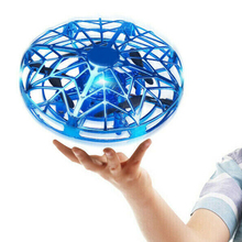 Quadcopter Flying-Drone Led-Light Hand-Operated Indoor New Toy Induction-Levitation