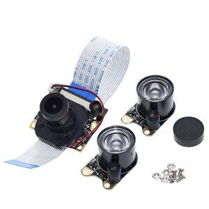 Image 5 - Raspberry Pi 3 IR CUTกล้องNight Vision Focalปรับได้5 MP OV5647โดยอัตโนมัติวัน/คืนสำหรับRPI 3B +/3B/2B