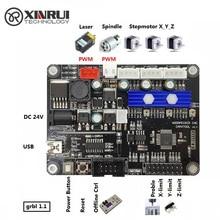 GRBL التصنيع باستخدام الحاسب الآلي آلة الحفر لوحة تحكم ، 3 محور التحكم ، ماكينة الحفر بالليزر مجلس منفذ USB