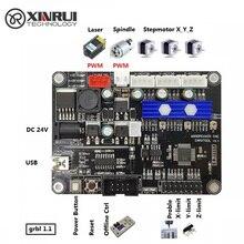GRBL cnc gravur maschine control board , 3 achsen steuerung, laser gravur maschine bord USB port
