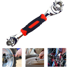 Tiger Wrench Multi Functional 8 in 1 Hand Tool 360 Degree Rotatable Antislip Car Bike Repair Tool