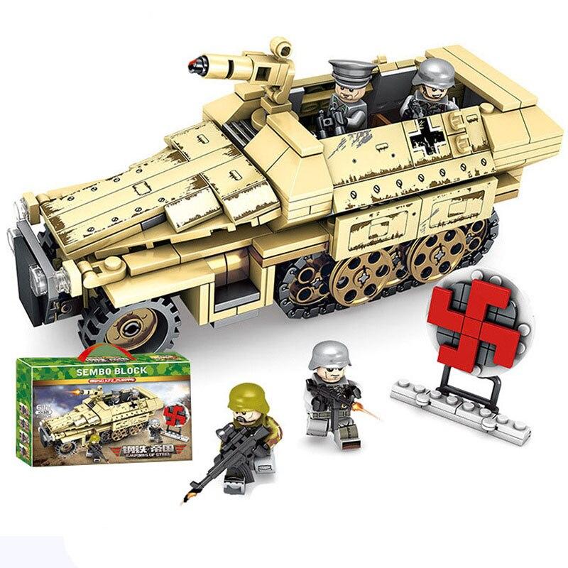 Decool 2111 Military series M1025 armored humvees.235 pcs Legoings 3D DIY Figur