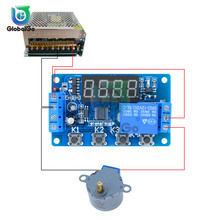 DC 4V-20V Time Delay Relay LED Digital Display Cycle Time Timer Delay Switch Circuit 12V 24V Time Controller Timing Relay Switch