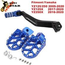 Мотоциклетные колышки с ЧПУ для YAMAHA YZ85 YZ125 YZ250 125X YZ250F YZF WRF 250 450 YZF250 WRF250 WR450F 2005-2020 2021