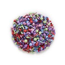 Brads Scrapbooking Embellishment Mixed-Pastel DIY Decor 500pcs Handmade Round
