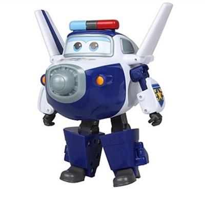 Большой! 15 см ABS Супер Крылья деформация самолет робот фигурки Супер крыло Трансформация игрушки для детей подарок Brinquedos - Цвет: No Box PAUL
