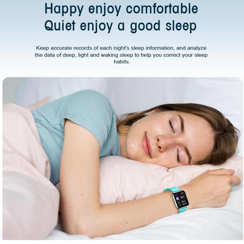 P22 montre intelligente ip67 étanche bluetooth fréquence cardiaque télécommande contrôle sommeil surveillance étape smartwatch vs P8