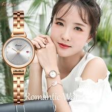 Kimio Women Watches Luxury Wrist Watch Relogio Feminino Clock for Women Milanese Steel Lady Rose Gold Quartz Ladies Watch New цена и фото