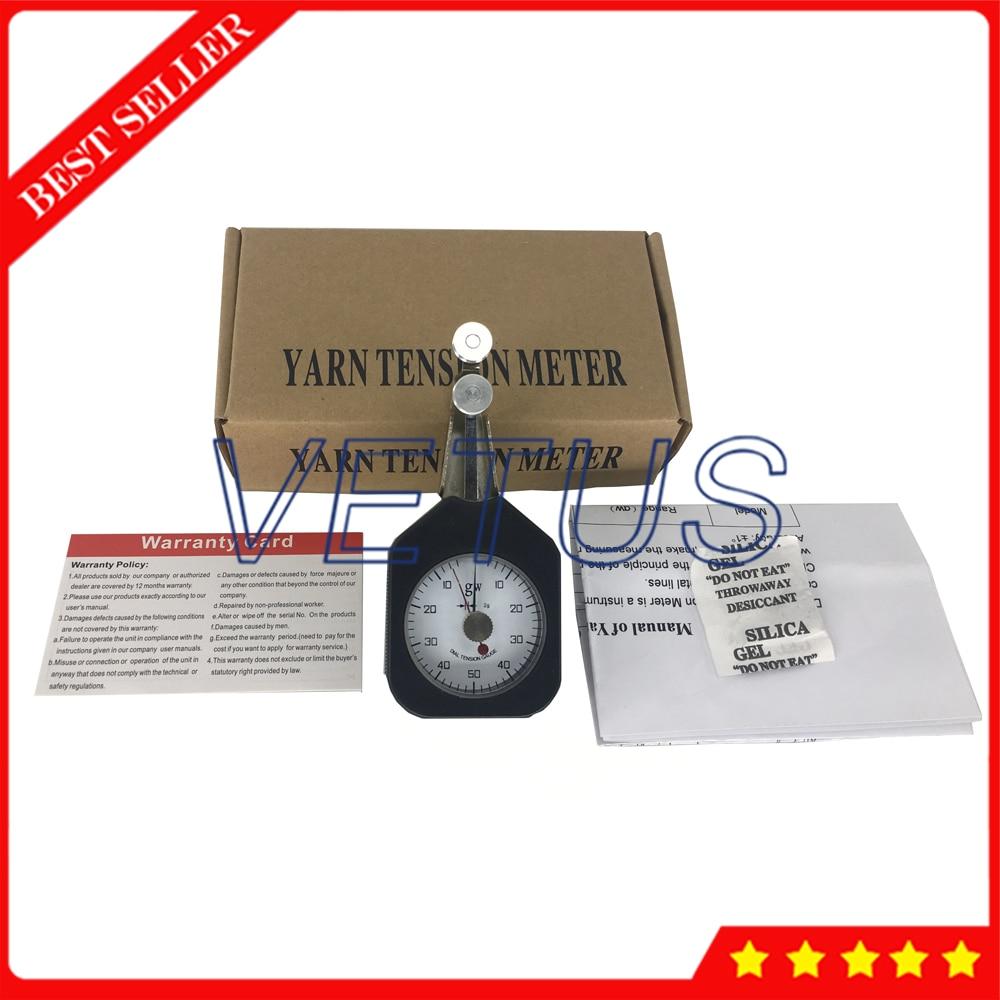 DTF-50 Yarn Tension Meter 50gw Tension Gauge Tester Dynamometer