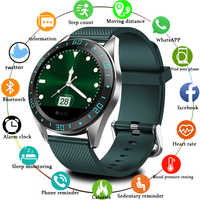 LIGE 2019 nuevo reloj inteligente para hombres pantalla LED Monitor de ritmo cardíaco rastreador de fitness de presión arterial reloj deportivo impermeable Smartwatch + caja