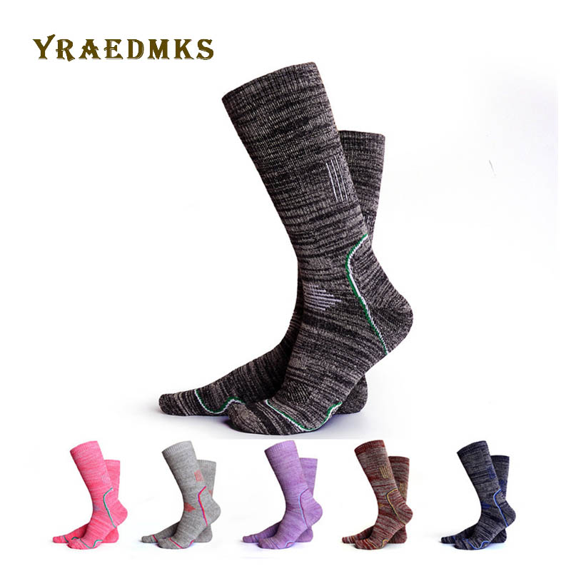 Winter Warm Sports Socks Men Thickening Alaska Terry Thermo Sock Skiing Outdoor Thermal Sock High Warmth Snow Hiking Sport
