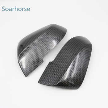 Soarhorse For BMW F20 F30 F31 F21 F22 F23 F32 F33 F34 F35 X1 E84 Car Rearview Mirror cover 1 2 3 4 series Side wing mirror Cap