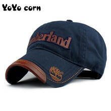 YOYOCORN Superman baseball cap Embroidered worn out Men women couple models outd