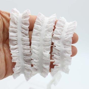 20mm wzburzyć falbala stretch wstążka elastyczna spódnica z falbanką spódnica do włosów dodatki do odzieży tanie i dobre opinie CN (pochodzenie) Na co dzień