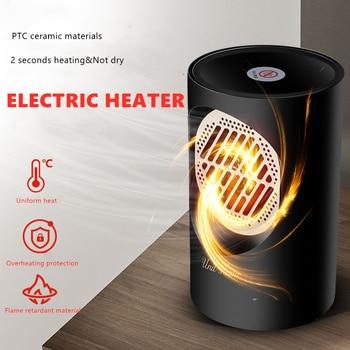 300w Mini Fan Heater Portable Electric Heater Desktop Heating Warm Air Fan Home Heaters Handy Air Heater Warmer Fan 2 seconds warm air fan 500w mini portable electric heater winter home office personal warmer heating air blower