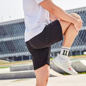 Image 5 - Youpin Men Sports Shorts Cold skin Breathable comfort Silky short pants Fitness Running sweatpants