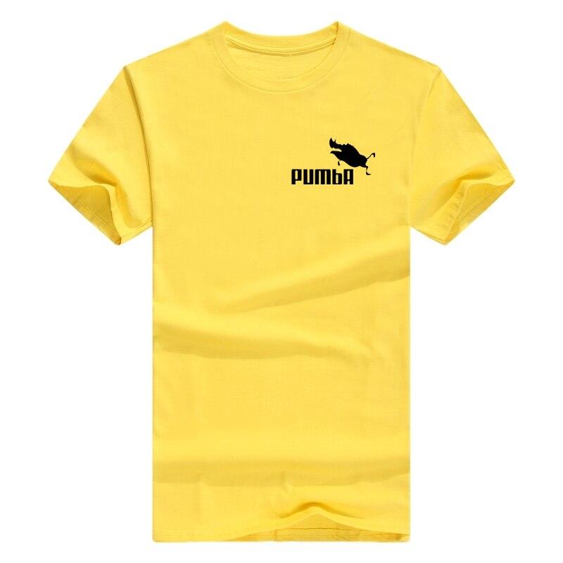 ENZGZL летняя новая мужская футболка из хлопка, футболки с коротким рукавом, высокое качество, футболки для мальчиков, топы темно-синего цвета, это я E4930 - Цвет: x-yellow
