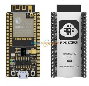 Image 2 - حقيقي ESP32 NodeMCU 32S لوا واي فاي IOT مجلس التنمية ESP32 WROOM 32 ثنائي النواة اللاسلكية واي فاي بليه وحدة Ai المفكر