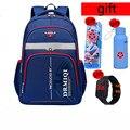 Водонепроницаемые школьные сумки для девочек и мальчиков  Детские рюкзаки для начальной школы  школьный ранец  детский Ранец на молнии