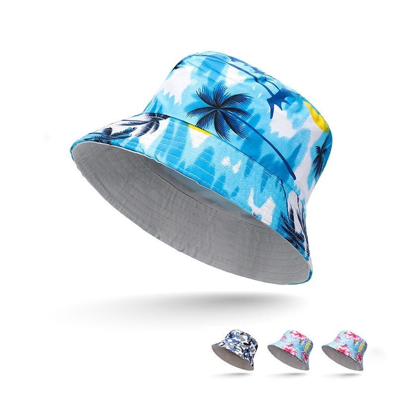 Bucket Hats Women's Spring And Summer Wide Eaves Wild Joker Travel Sun Hat Fisherman Hat Unisex Street Sunshade Fishing Caps
