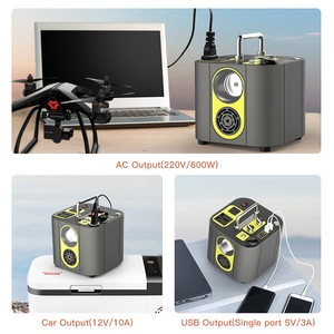 Image 3 - WST 126000mAh High Capacity Portable Power Bank Station Energy Storage Power 220V AC/DC