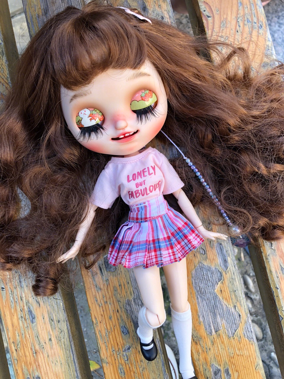 1/6 BJD 30CM Doll toys 19 joint Top Quality Chinese Doll BJD Ball Joint Doll Cute girl with Long brown hair smile blyth