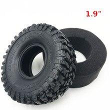 """4 шт. 120*48 мм 1,9 """"резиновые шины для колес 1:10 RC Rock Crawler Axial SCX10 SCX10 II 90046 90047 TAMIYA TRX 4 TRX4"""