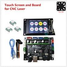 Grbl V1.1 Uitbreiding Plaat Mks Dlc V2.0 Moederbord Cnc Offline Lcd Display Vervangen Cnc Shield V3 Uno R3 Cnc 3018 pro Upgrade Kit
