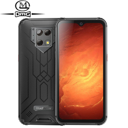 Blackview BV9800 Pro NFC Thermal Camera Mobile Phone 6GB+128GB Helio P70 Android 9.0 IP68 Waterproof 6580mAh Rugged Smartphone