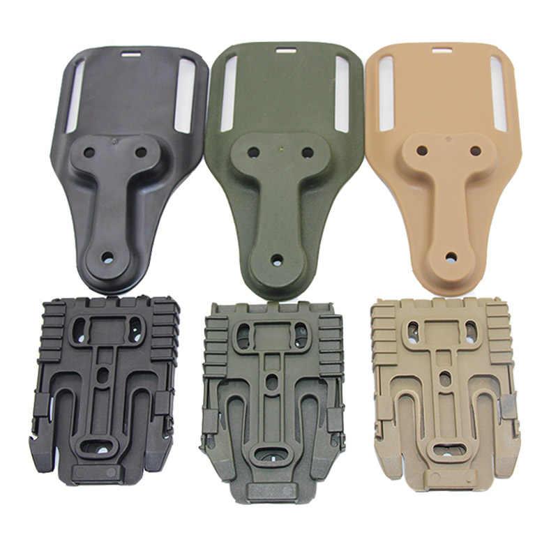 Taktische Holster Adapter QLS Schnell Locking System Kit für Glock 17 Colt 1911 Beretta M9 Gun Fall QLS 19 22 jagd Zubehör