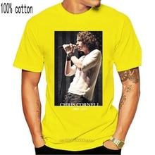 T Shirt Logo Crew Neck Men Chris Cornell 1964 2018 T Shirt Men Casual 100% Cotton Tee Usa Size S 3Xl 013440