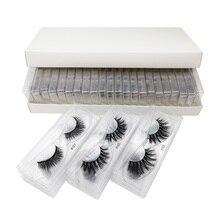 AY New 100 Pair Beauty Makeup lashes Wholesale Visofree 3D mink Woman Tools Mink Eyelashes  vendors