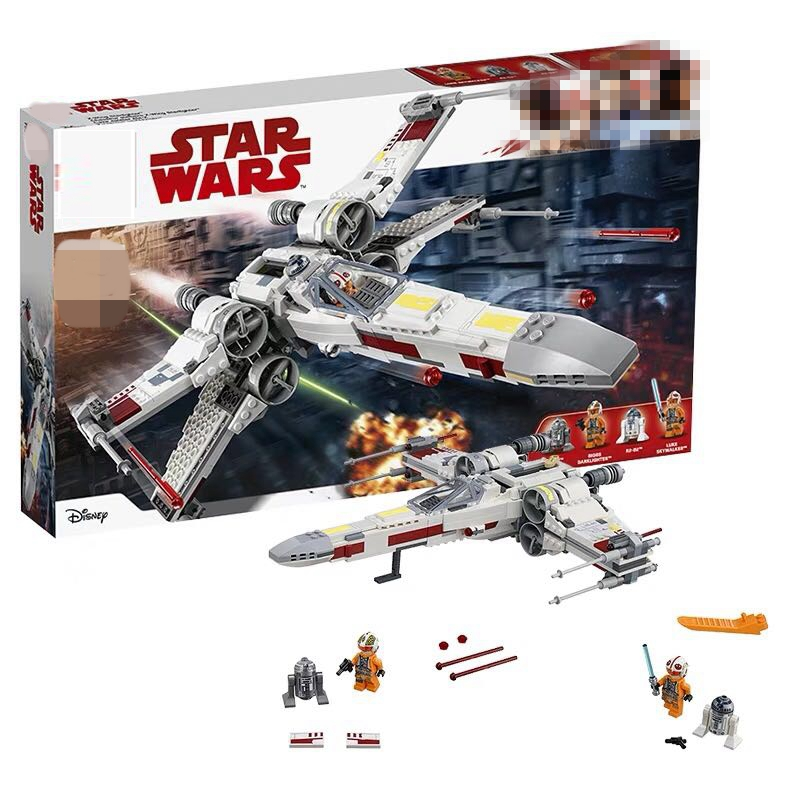 10466 Star Wars Compatible Legoinglys X Wing Star Tie Fighter 75101 75102 Building Block Educational Toys For Kids Gifts