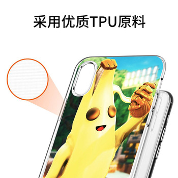 Fortnite Phone Case for Iphone 11 Case  Pro Max 7 8 6 S Plus12 Pro Max Mini Fortress Night Anime Phone Case Cartoons Case Gift 2