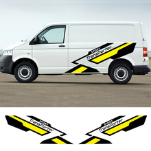 For Volkswagen Transporter T4 T5 T6 Accessories Auto Sport Graphics Stickers Car Body Vinyl Decals Side Stripes Decor Stickers