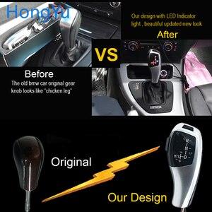Image 2 - עבור BMW X5 2004 2005 2006 E53 Facelifted Gear Shift שיפטר מנוף Knob הילוכים אוטומטיים LED אור Shift