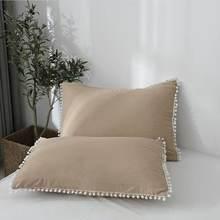 2020 Новый чехол для подушки Хлопковый 48 см x 74 8 цветов на